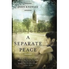 A Separate Peace by John Knowles cover