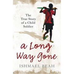 A Long Way Gone by Ishmael Beah cover